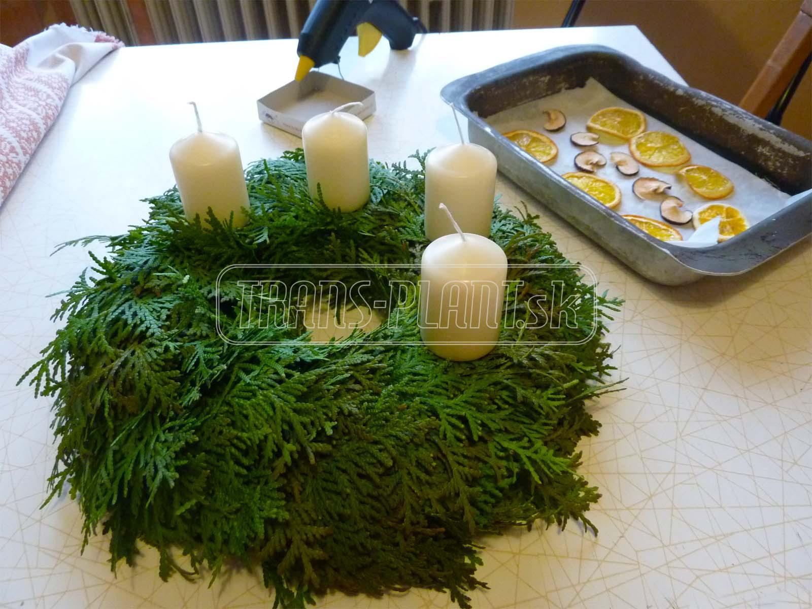 Upevnenie sviečok