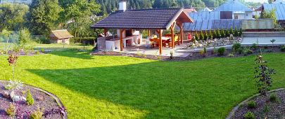 Realizacia okrasnej záhrady Gašparovo